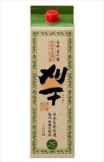 そば焼酎「刈干」 1800ml