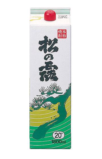 松の露 1,800ml 20℃ 紙パック